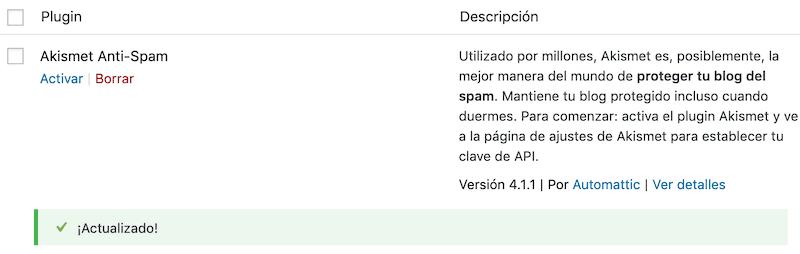Descargar WordPress y configurar Askimet